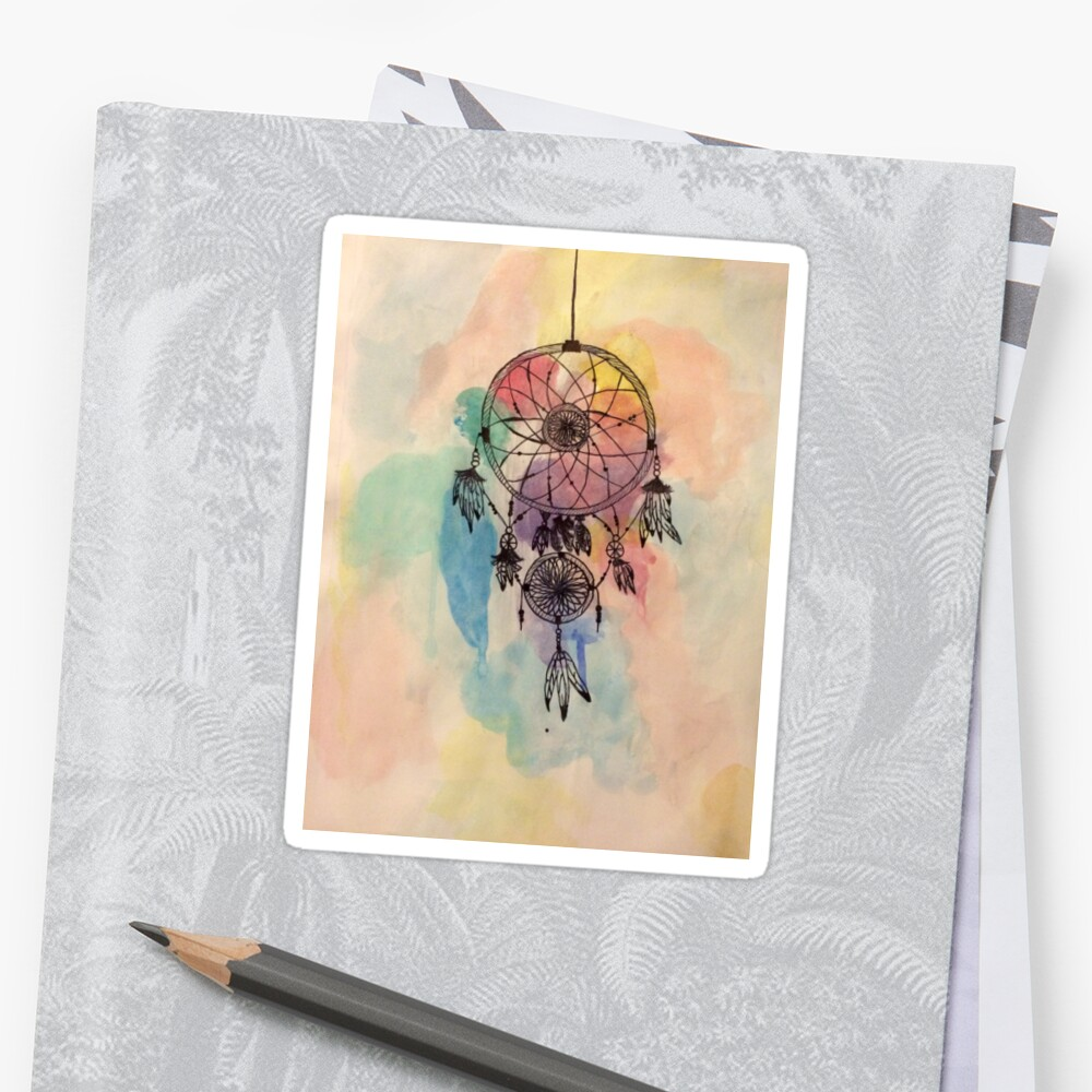 Boho Watercolor Dreamcatcher by victoriaowens8