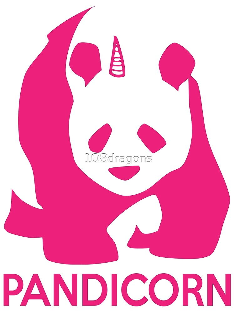 PandiCorn - Pink Logo Design by 108dragons
