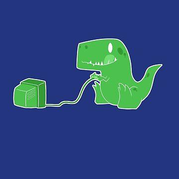 Gameasaurus Rex by caravantshirts