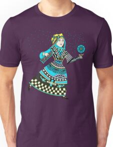 Queen Running with Magic Flower T-Shirt