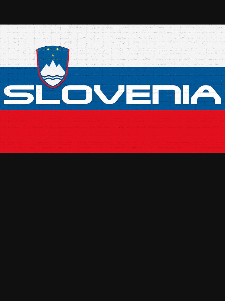 Slovenian Flag  by MimiDezines