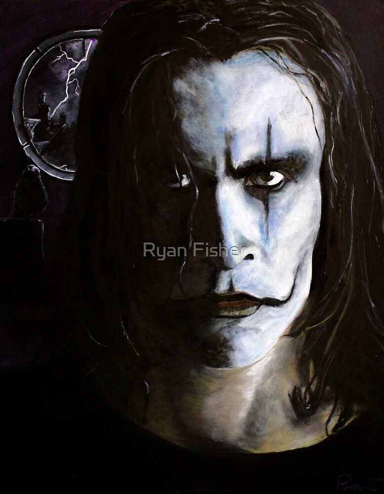 The Crow- Eric Draven by Ryan Fisher