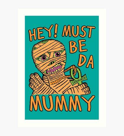 Da Mummy Lámina artística