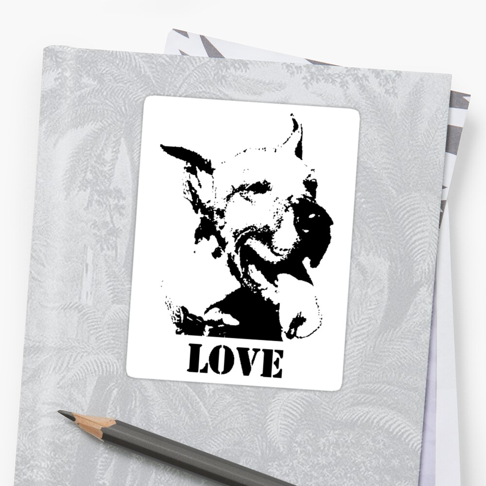 NO-KILL UNITED : ES LOVE (STICKER) by Anthony Trott