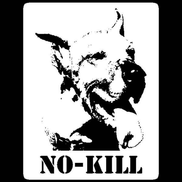 NO-KILL UNITED : ES NO-KILL (STICKER) by Anthony Trott