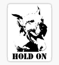 NO-KILL UNITED : ES HOLD ON (STICKER) Sticker