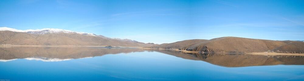 Eastern California Lake by Strycian