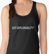 GOT DEPLORABILITY 1 Women's Tank Top