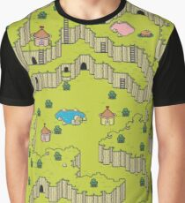 Earthbound: Saturn Valley Graphic T-Shirt