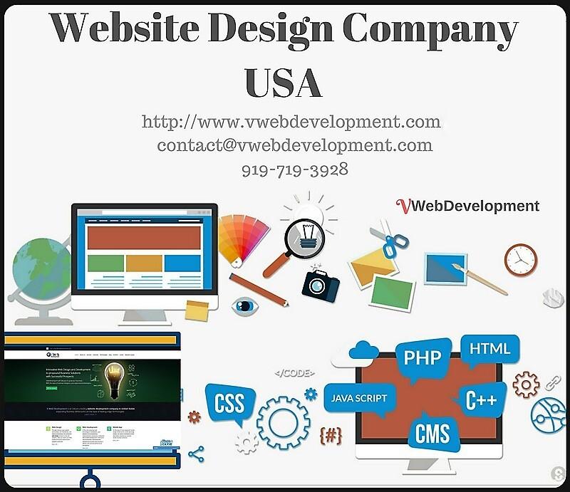 Leading Website Design Company in USA by vwebdevelopment