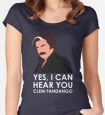 Yes, I can hear you Clem Fandango. Fitted Scoop T-Shirt