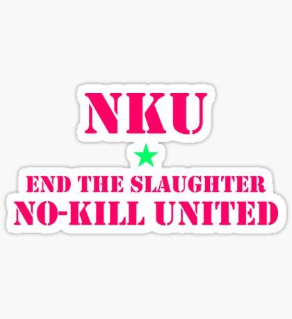 NO-KILL UNITED : ETS-CALI Sticker