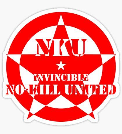 NO-KILL UNITED : INV-R Sticker