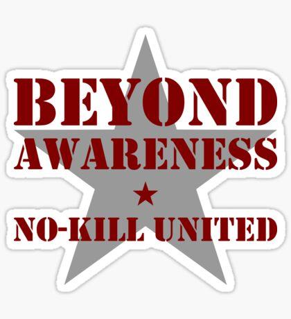 NO-KILL UNITED : BA-MG Sticker
