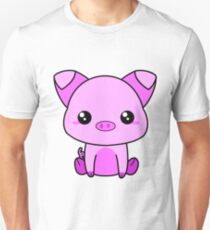 Cute Piggy Unisex T-Shirt