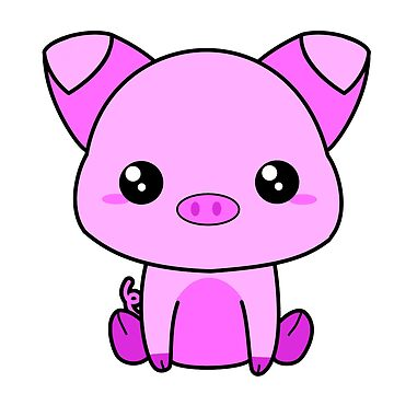 Cute Piggy by MetalHeadKendra
