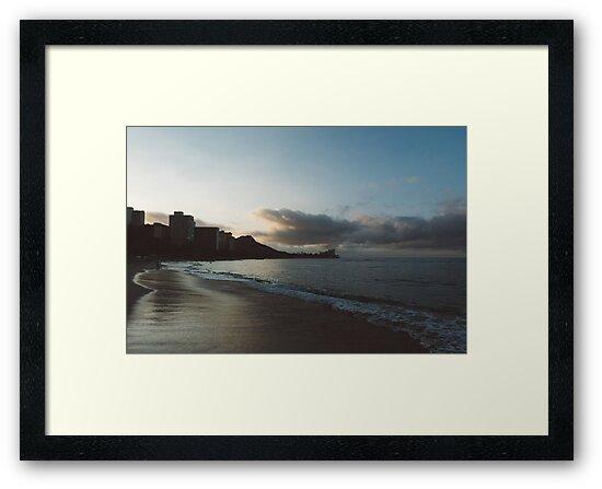 beach-morning 02 by noirblanc777