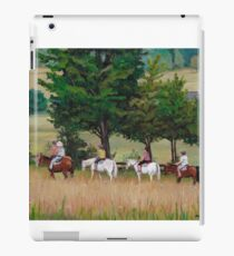 Horseback Tour of the Gettysburg Battlefield iPad Case/Skin