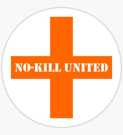 NO-KILL UNITED : PA-WO Sticker
