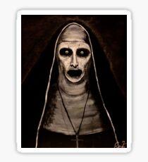 Demonic Sister Valak Sticker