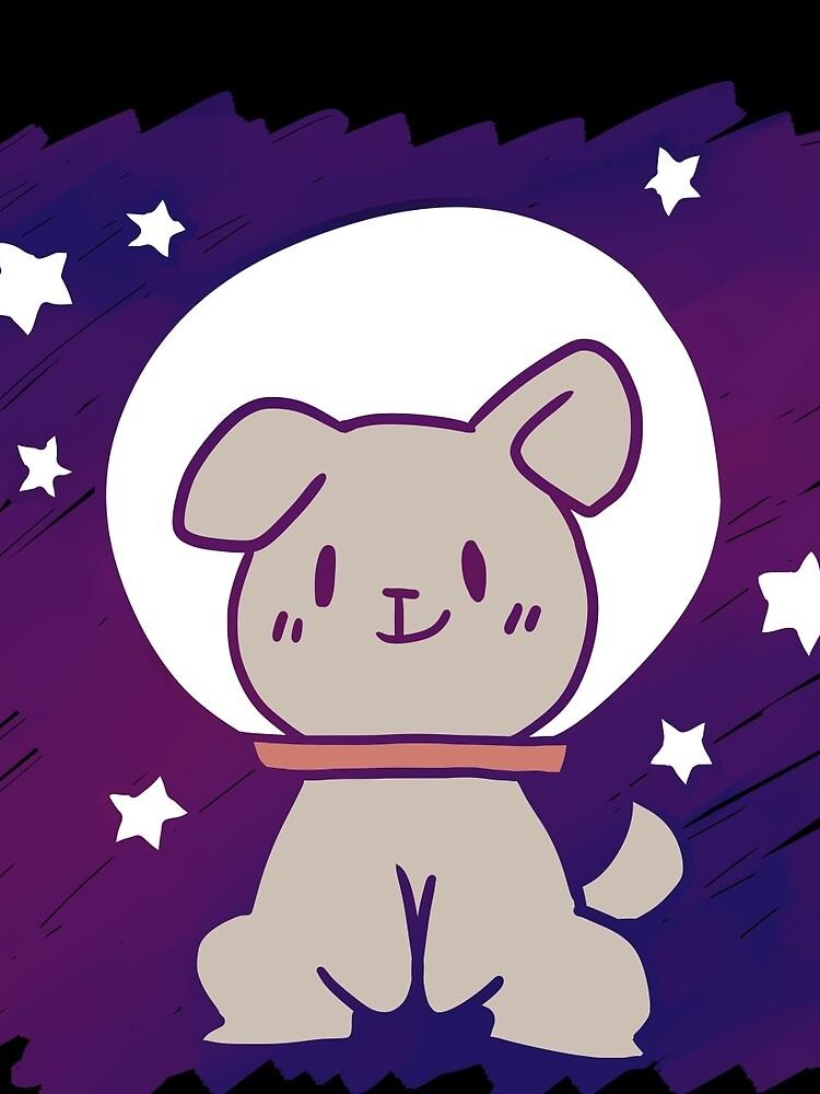 space dog by Sticky-Rice