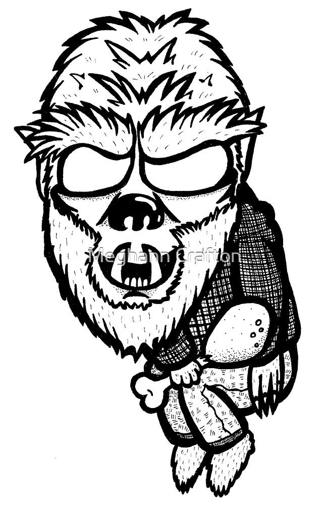 Wolf Guy by MeghannIllustra
