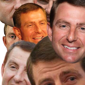 The many faces of Dabo Swinney  by lwall2426