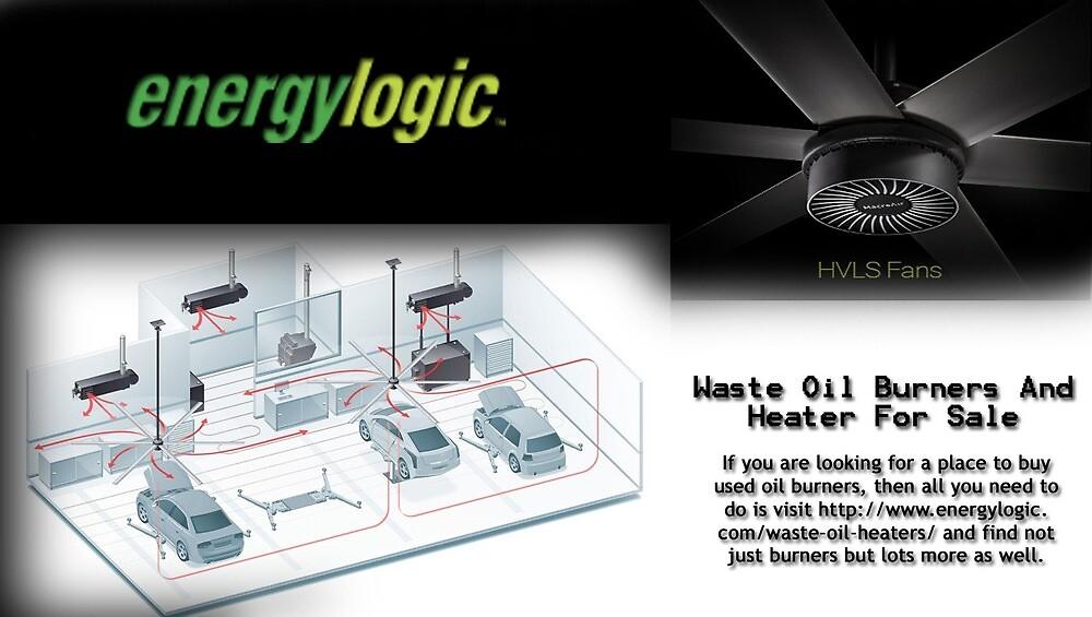 Waste Oil Burners and Heater for Sale - www.energylogic.com by energylogic