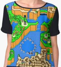 Super Mario World: Dinosaur Land Chiffon Top