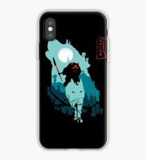 Vinilo o funda para iPhone La princesa Mononoke