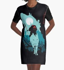 Princess Mononoke Graphic T-Shirt Dress