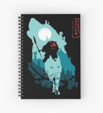 Princess Mononoke Spiral Notebook