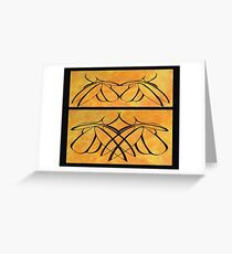 Apart and Together Greeting Card