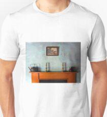Antique Mantelpiece Still Life Unisex T-Shirt