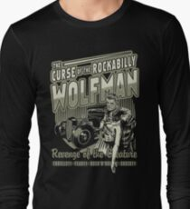 Rockabilly Wofman Long Sleeve T-Shirt