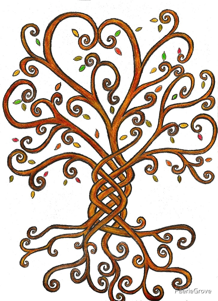 Celtic Inspired Tree of Life by FaerieGrove