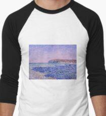 Claude Monet - Shadows on the Sea  The Cliffs at Pourville (1882)  T-Shirt