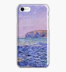 Claude Monet - Shadows on the Sea  The Cliffs at Pourville (1882)  iPhone Case/Skin
