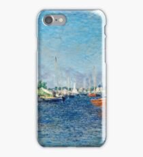 Claude Monet - Red Boats, Argenteuil (1875)  iPhone Case/Skin
