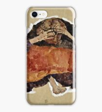 Egon Schiele -Troubled Woman  iPhone Case/Skin