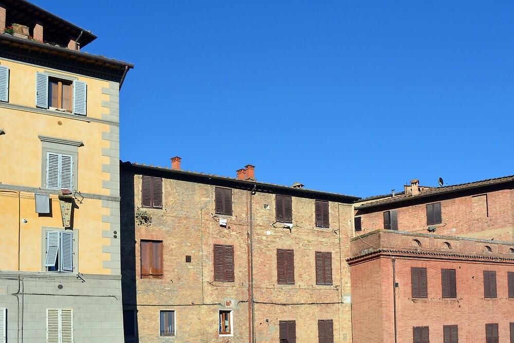 Buildings from Siena by oanaunciuleanu