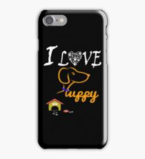 Funny Dog T-Shirt iPhone Case/Skin