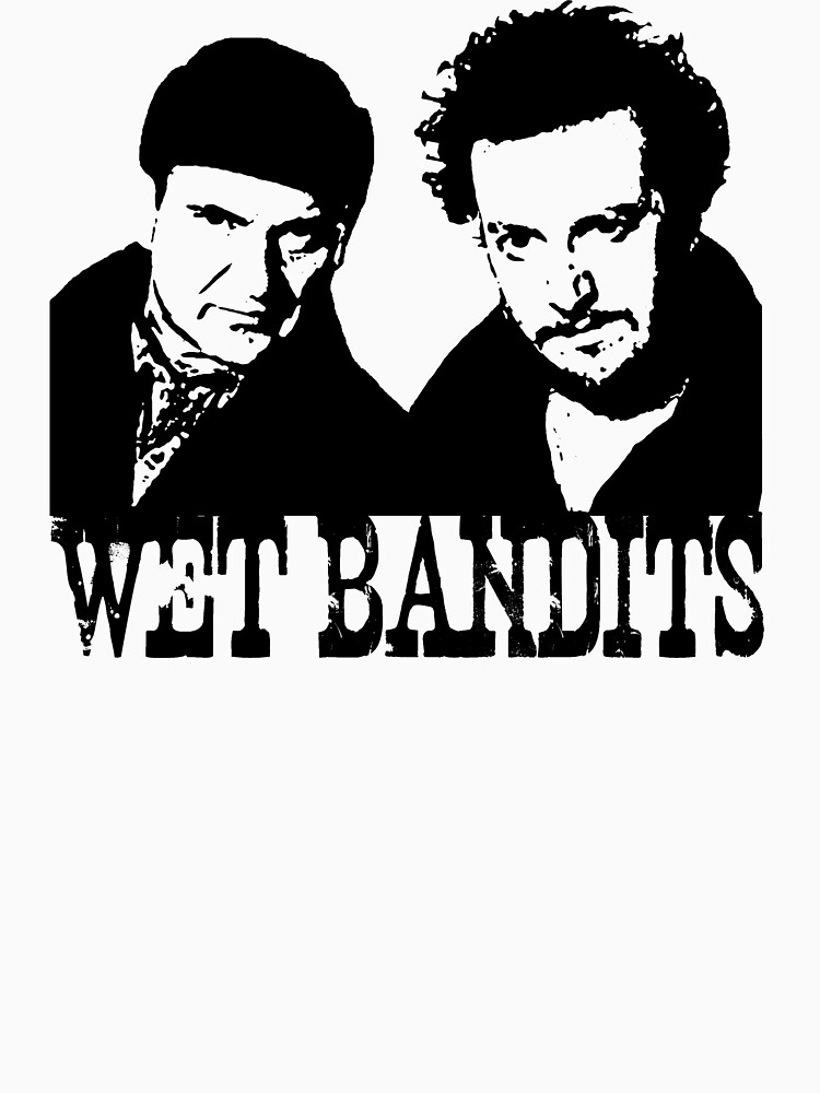 Quot Home Alone Wet Bandits Quot T Shirt By Mimidezines Redbubble