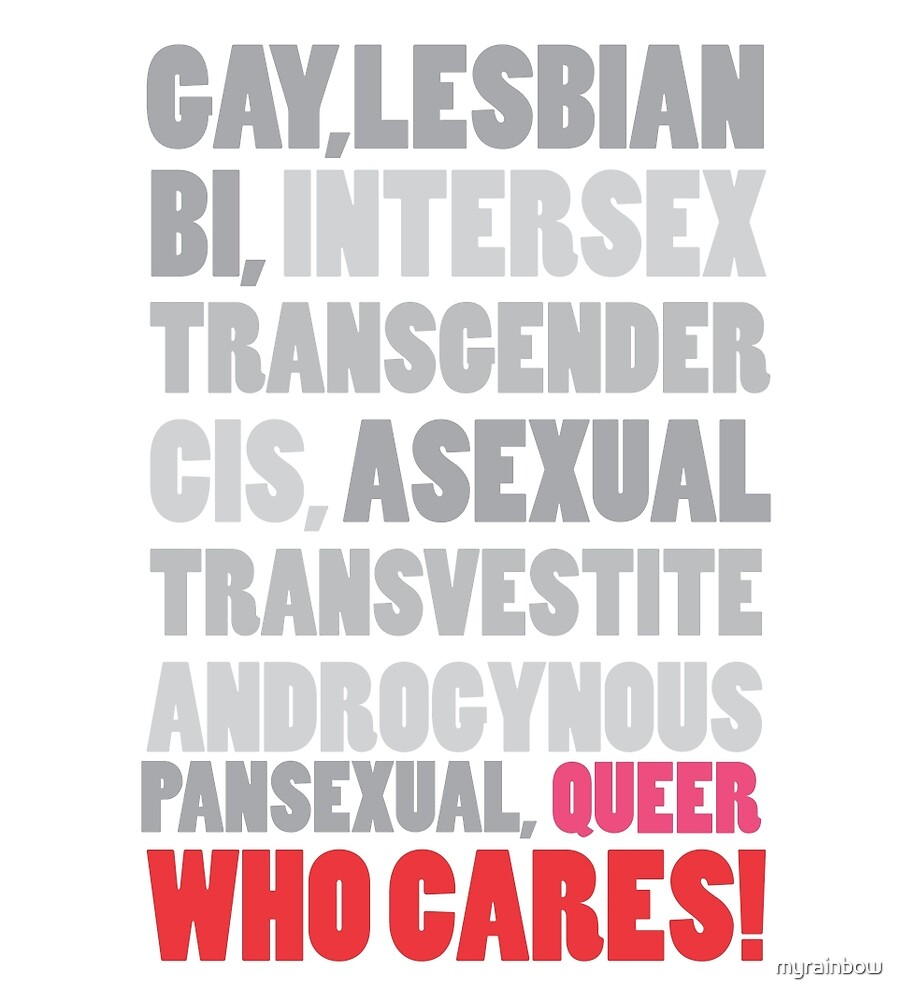Gender Inclusion Campaign: Queer by myrainbow
