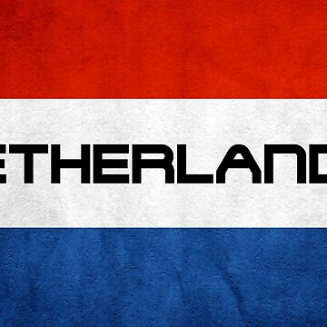 Netherlands Flag by MimiDezines