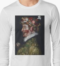 Giuseppe Arcimboldo - Spring - La Primavera 1563 Long Sleeve T-Shirt