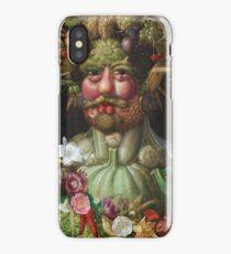 Giuseppe Arcimboldo - Rudolf Ii Of Habsburg As Vertumnus 1590 iPhone Case/Skin