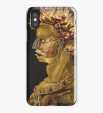 Giuseppe Arcimboldo - Fire - From The Four Elements 1566 iPhone Case/Skin