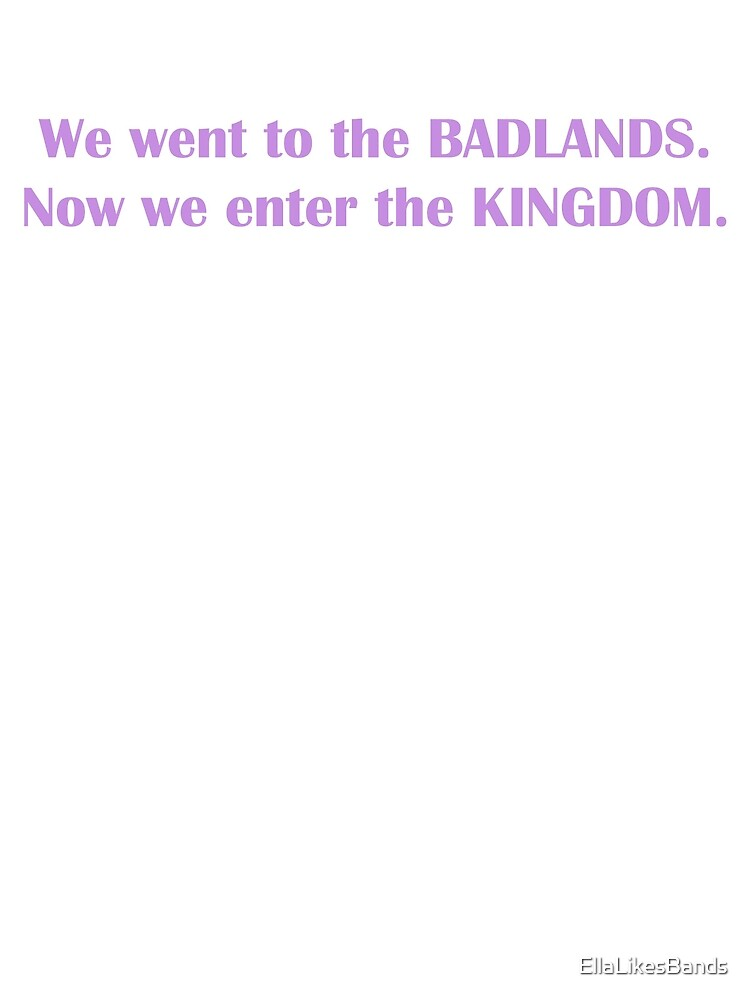 Now we enter the KINGDOM. by EllaLikesBands
