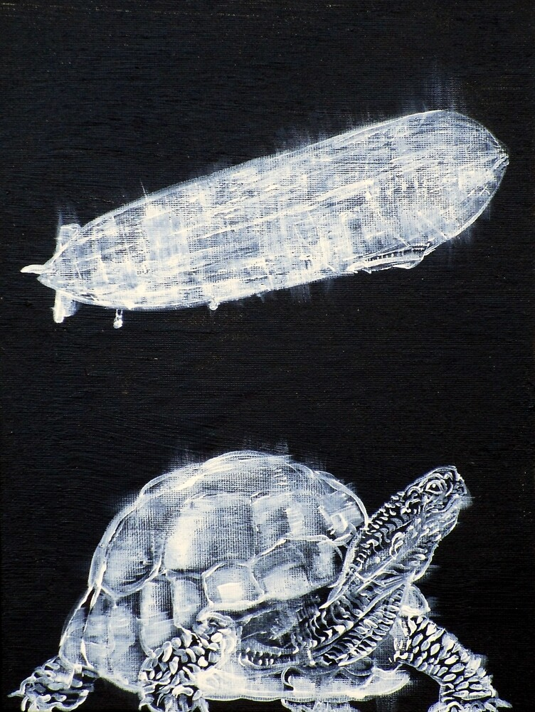 TURTLE AND ZEPPELIN by lautir